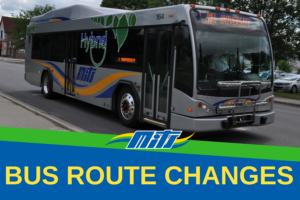 Summer Bus Route Changes