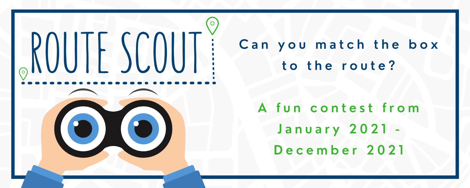 Describing Route Scout Contest