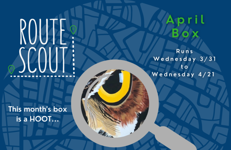 MITS Route Scout April Box graphic