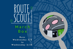 MITS March Route Scout Graphic